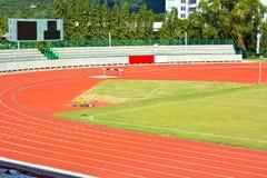 Running track rubber standard Stock Image