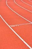 Running track rubber standard Stock Photos
