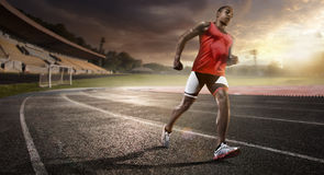 Running track. Sport. athletics running stadium track stock photo