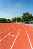 Running track Stock Photo