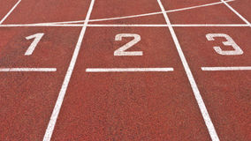 Running Track Start Royalty Free Stock Images