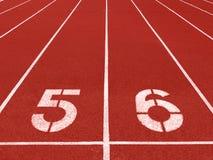 Running track start Stock Photos