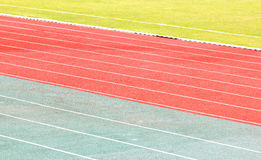 Running Track. Stock Image