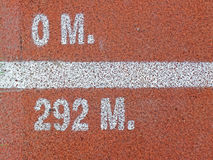 Running track texture Royalty Free Stock Photography