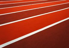 Running track texture with lane royalty free stock photography