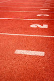 Running track texture Royalty Free Stock Images