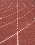 Running track texture Stock Photos
