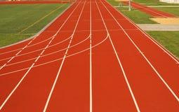 Running tracks Royalty Free Stock Image
