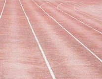 Running tracks Royalty Free Stock Photography