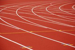 Running-tracks Stock Photos
