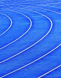 Running tracks Royalty Free Stock Photos