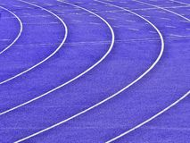 Running tracks Royalty Free Stock Images