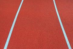 Running tracks. Stock Photos