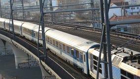 Running train stock footage