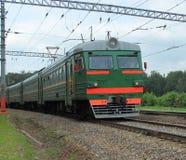 The running train Stock Image