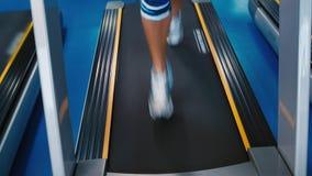 running treadmill arkivfilmer