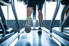 running treadmill Fotografering för Bildbyråer