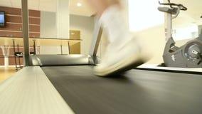 running treadmill för man lager videofilmer