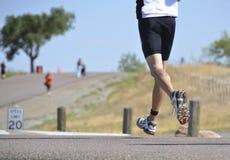 Running Triathlete Stock Photos