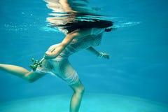 Running under water Royalty Free Stock Photos