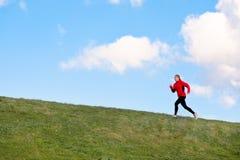 Running Uphill Stock Photos