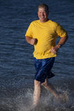 Running in water Stock Photography