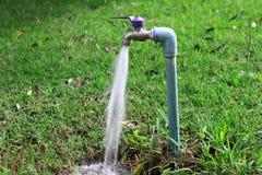 Running water stock image
