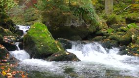 Running water stock video footage
