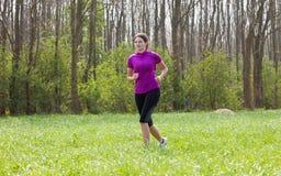 Running woman Royalty Free Stock Photos