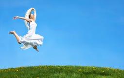 Running woman Royalty Free Stock Image