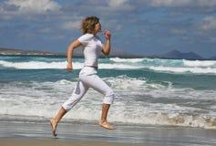 Running woman Stock Photos
