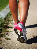 Running woman Stock Image