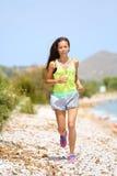 Running woman runner Royalty Free Stock Image