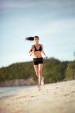 Running woman Stock Image