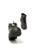 Running working boots Royalty Free Stock Photos