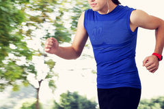 Running young man Royalty Free Stock Photo