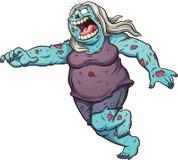 Running zombie Stock Photography