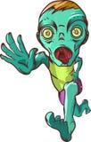Running zombie. Stock Photo