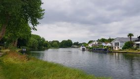 Runnymede  on the Thames Royalty Free Stock Photography
