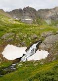 Runoff da neve que derrete um córrego. Imagem de Stock Royalty Free