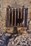 Runoff Grate royalty free stock photos