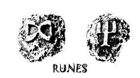 runor arkivbilder