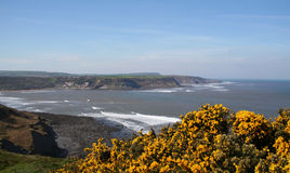 runswick bay Obraz Royalty Free