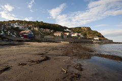 Runswick Bay, East Yorkshire, England Stock Image