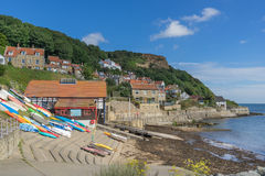 Runswick Bay Stock Photo