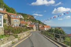 Runswick Bay. On the north east Yorkshire coast Royalty Free Stock Photography