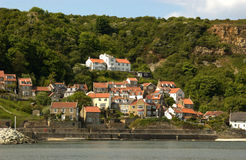 Runswick Bay, North Yorkshire, UK royalty free stock photo