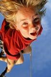 runt om att hänga Fotografering för Bildbyråer