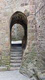 Runt om Mont Saint Michel Abbey Fotografering för Bildbyråer