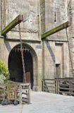 Runt om Mont Saint Michel Abbey Arkivbild
